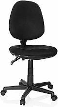 hjh OFFICE 666101 desk chair CITY 25 mesh black
