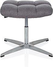 hjh OFFICE 670934 stool SARANTO fabric dark grey