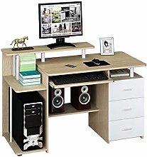 hjh OFFICE 673952 computer table STELLA light oak