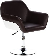 HJH Office 685943 Bar and Lounge Chair Brown