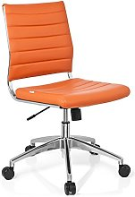 hjh OFFICE 720011 Desk Chair Trisha Faux Leather