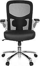 hjh OFFICE 736230 heavy chair INSTRUCTOR S Silver