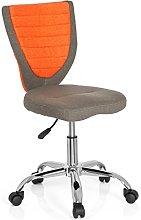 hjh OFFICE KIDDY COMFORT Grey/Orange Fabric