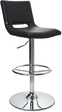 HJH Office Neo 715114 Bar Stool Brushed Stainless