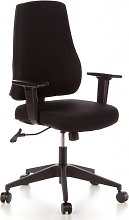 hjh OFFICE Table, Black