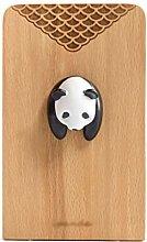 HJHJ bookend supports Panda Bookends Creative Book