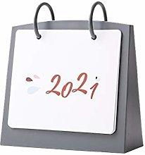 HJHJ Creative calendar 2021 Desk Calendar Cute