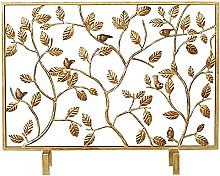 HJRBM Fireplace Screen Baby Safety with Steel