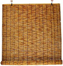 HJRD Bamboo Curtains Hand-Woven,Reed Curtain for