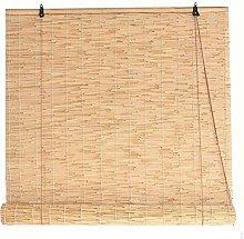 HJRD Bamboo Curtains Natural Bamboo