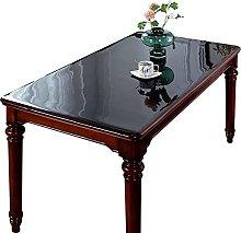 HJRD Clear PVC Tablecloth, Transparent Table Cloth