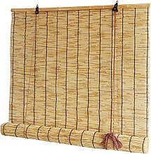 HJRD Natural Reed Curtain,Bamboo Roller Blinds