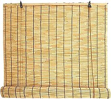 HJRD Reed Curtain for Patio,Kitchen Bamboo Roller