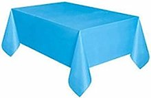 HJW Durable Tablecloth Disposable Tablecloth Solid