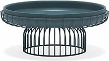 HJW Home Coffee Table Decoration Round Fruit Bowl