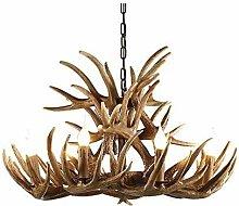 HJW Led Chandelier Ceiling Lighting Modern Resin