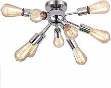 HJW Modern Sputnik Ceiling Lights Mid Chandelier
