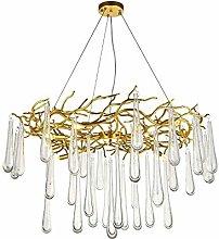 HJW Practical Lighting Modern Crystal Chandelier