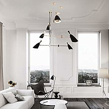 HJW Retro Chandelier Lighting,Nordic Ceiling