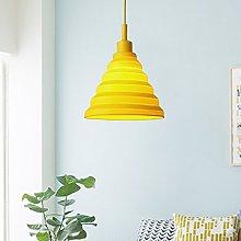 HJW Single Pendant Lamp Simple Modern Glass