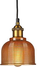 HJXDtech - Industrial Vintage 15cm Glass Lampshade