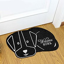 HJY 3d Cute Cat Floor Rug Irregular Doormat For