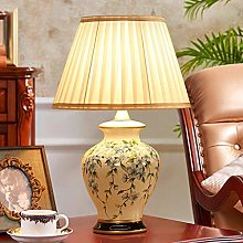 HJY Home Creativity Ceramic Desk Lamp Bedroom