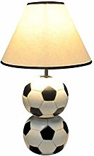 HJY Home Creativity Resin Football Table Lamp