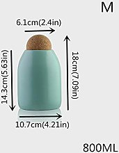 HKFG Kitchen Storage Bottle Ceramics Spice Jars