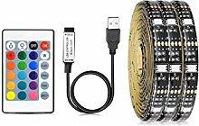 HKHJN 1M 2M 3M 4M 5M 5050SMD RGB LED lamp TV