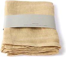 HKliving - Soft Yellow Linen Napkin Set Of 2