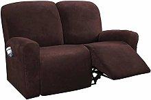 HKPLDE 6-Piece Stretch Recliner Chair Slipcover,