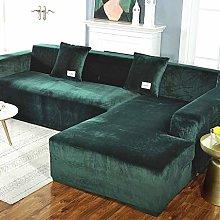 HKPLDE Sofa Slipcover, Stretch Velvet Couch Covers