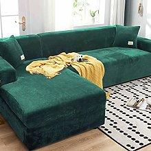 HKPLDE Thick Sofa Covers 1/2/3/4 Seater L Shape