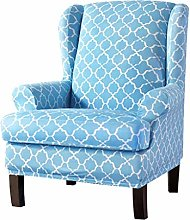 HKPLDE Wingback Chair Slipcovers, Stretchy Wing