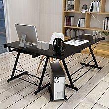 HLC 161 * 120 * 73cm Computer Table Desk L-Shape