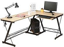 HLC Computer Desk L-Shape Corner Home Office