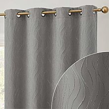HLC.ME Camden 100% Blackout Thermal Window Curtain