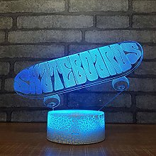HLDWMX 3D LED Illusion Lamp Night Light