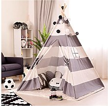 HLGQ Teepee Tent for Kids, 47.2x61.4inch,indoor