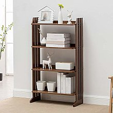 HLL Bookcases,Solid Wood Student Bookshelf Modern
