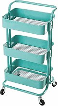 HLL Carts,Trolley Kitchen Storage Rack Utility
