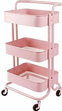 HLL Carts,Trolley Wheeled Kitchen Storage Cart