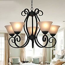 HLL Chandeliers,Candle Chandelier Wrought Iron