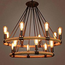 HLL Chandeliers,Retro Industrial Style Lighting