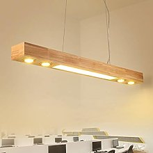 HLL Chandeliers,Solid Wood Chandeliers Led Light