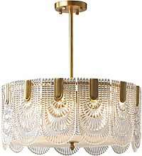HLL Contemporary Luxury Chandelier E Brass