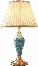 HLL Desk Lamp,Ceramic American Creative Design
