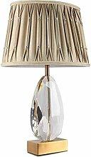 HLL Desk Lamp,Crystal Office Modern Table Lamps