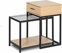 HLL Desks,Side Table,Nesting Tables, Set of 2